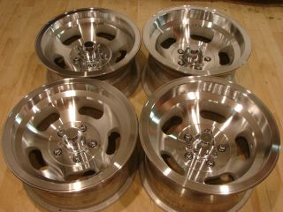 15x7 8 5 Slot Mag Wheels Rims Oldsmobile Camaro Corvette Nova Chevelle