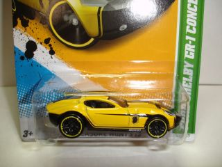 Hot Wheels 2012 Treasure Hunt 11 Ford Shelby GR 1 Concept