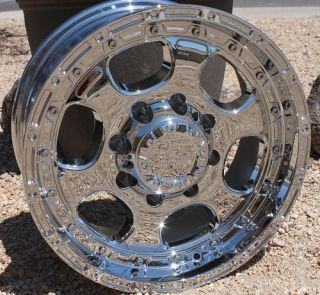 HE842 Rims Chevy 2500 Silverado Sierra Dodge H2 8 Lug Wheels