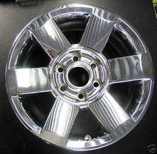 2007 Armada Titan 18x8 Chrome Clad Wheel Rim 18 6 Spoke 62439