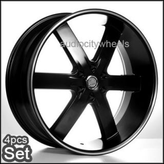 24 AC55 Wheels Rims Tahoe Yukon Escalade Chevy Almada