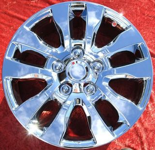 New 20 Toyota Tundra Chrome OEM Wheels Rims Land Cruiser Sequoia 69533