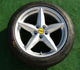 Factory Ferrari 360 18 inch Wheels Tires Modena