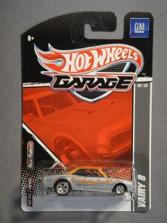 Hot Wheels Garage Real Riders GM Vairy 8 3 Diecast Car New Mattel