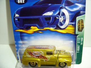 2003 Hot Wheels Treasure Hunt 56 Ford 2 12