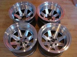 RARE 70s 15x10 Desert Racing Wheels Rims Mags 5x5 5 Dodge W150 RAM