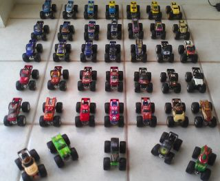 Hot Wheels Monster Jam Monster Trucks 1 64 Scale Lot of 40 Trucks