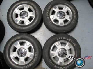 Ford F150 Factory 17 Wheels Tires Rims 3781 Michelin 255 65 17