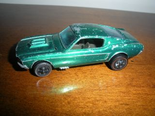 Vintage Redline Hot Wheels Custom Mustang Hong Kong