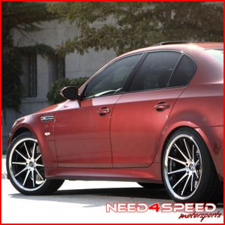 E63 E64 M6 Rohana RC10 Concave Machined Staggered Wheels Rims