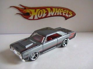 66 Dodge Dart Big BLOCK426 Hemi 2012 Hot Wheels Muscle Mania No Play