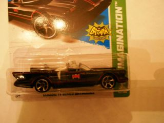 Hot Wheels Classic Batmobile TV Series 62 New for 2013 Mint in Pack