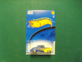 Hot Wheels Tomarts Price Guide 40 Ford Coupe Blue Flame