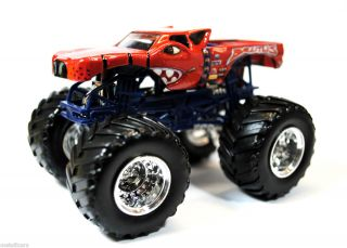 Hot Wheels Monster Jam Truck Brutus 1 64 Scale Loose