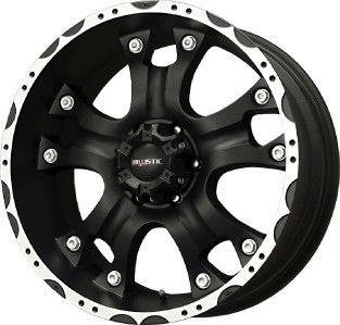 17 Ballistic Hostel Black Wheels Rims Jeep Wrangler