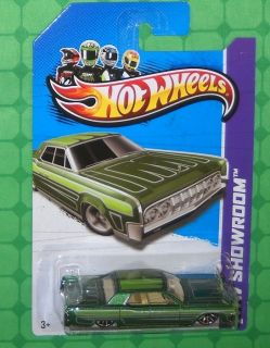 2013 Hot Wheels Showroom 191 HW Garage 64 Lincoln Continental