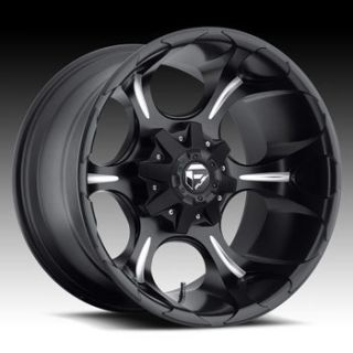 Fuel Dune 6x135 6x5 5 ET20 Matte Black Milled Wheels 4 New Rims
