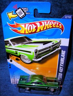 HOT WHEELS TREASURE HUNTS 66 FORD 427 FAIRLANE SUPER HUNT MUSCLE MANIA