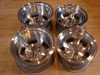 Ansen Sprint Slot 15x10 14x8 Mags Wheels Rim Bean GM 5 Lug 5x4 75