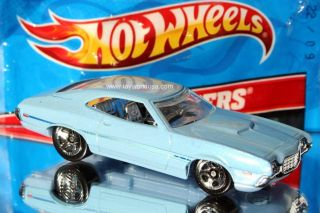 2012 Hot Wheels Super Speeders Models 5 72 Ford Gran Torino Sport