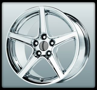WHEEL REPLICAS V1142 S TYPE CHROME SALEEN GT STAGGERED WHEELS RIMS