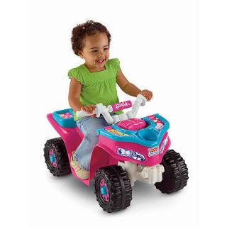 Power Wheels Fisher Price Barbie Lil Trail Rider ATV Girls Sport Quad