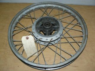 1963 Yamaha MG1T MG1 T 80 Rear Wheel Hub Rim