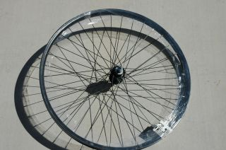 Wheel Master 26 x 1 75 Rear Wheel Rim 36h 5 6 7 Speed Black Bike