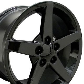 Black Corvette C6 Style Wheels Rims Fit Camaro SS 1995 2002