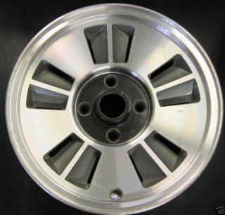 Mitsubishi Starion Conquest 1986 1987 86 87 10 Slot 4 Lug Alloy Wheel
