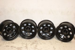 Black Rock 997 Type 8 Wheels 16x8 5x4 5 87 06 Jeep Wrangler YJ TJ