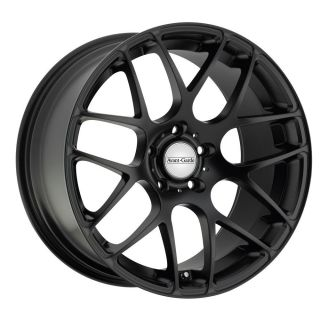 18 Avant Garde M310 Matte Black Wheels Rims Fit Audi A4 A5 A6 A8 S4
