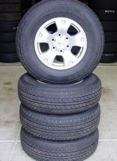 Toyota 2012 Tacoma 16 inch Wheels Tires Set of 4