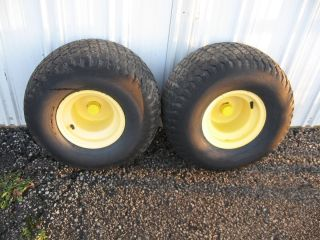 John Deere LX188 Rear Tires and Rims