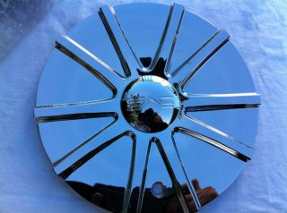DVS Wheel Chrome Custom Center Cap Part 503 24 Cap