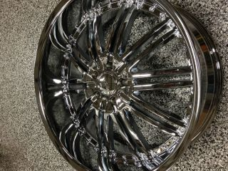 22 INCH MENZARI CHROME RIMS CHRYSLER 300C, DODGE CHARGER,CHALLENGER