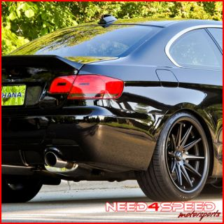 E89 Z4 Rohana RC10 Matte Black Concave Staggered Wheels Rims