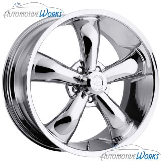 Vision Legend 5 5x127 5x5 12mm Chrome Wheels Rims inch 20