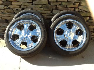 CHRYSLER 300 20x8 5 WHEELS TIRES NEW CHARGER MAGNUM CHALLENGER 5X115