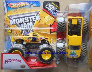 2013 FULLBOAR Mud Hot Wheels Monster Jam 1 64 scale Full Boar truck w
