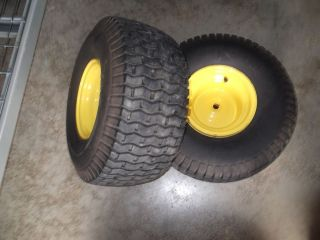 John Deere L100 L108 L110 L111 Rear Rims and Tires