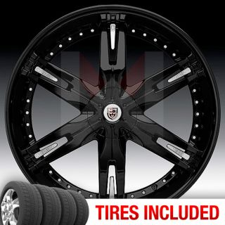 Lexani LX30 6x135 139 7 15 Wheels Tires Rims Black Chrome In