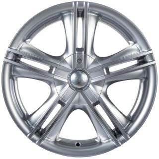 17 inch ion 161 Hypersilver Wheels Rims 5x110 Catera Cobalt HHR Malibu
