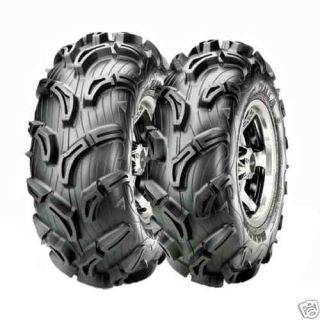 25Can Am Outlander Maxxis Zilla ATV Tire Wheel Kit