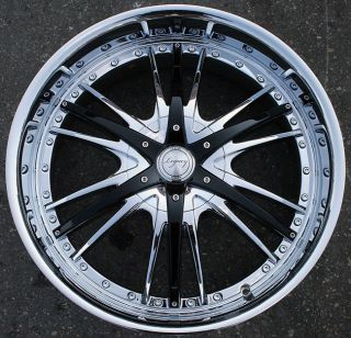 RVM LG5 20 Chrome Rims Wheels Yukon Tahoe Sierra 5x127