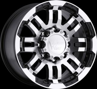 Warrior Black Machined Wheels Rims 5x135 5 Lug Ford F 150 F150