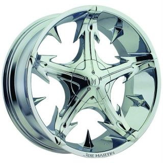 Bros Slickstar Chrome Wheels Rims 6x5 5 6x139 7 SLX Escalade