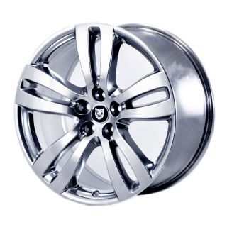 OEM JAGUAR XJ XJL TOBIA POLISHED WHEELS RIMS   59873 59874   OUTRIGHT
