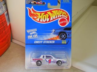 1997 Hot Wheels Chevy Stocker Collector 618 VHTF Very Nice Condition