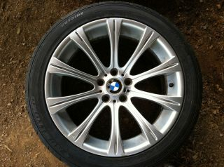 BMW M5 Radial Spoke Style 166 19 Alloy Rim E60 Complete Set 4